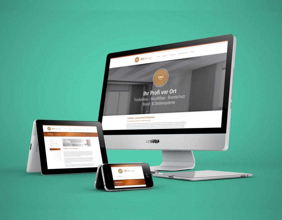 Webdesign Webseite Handwerk Trockenbau