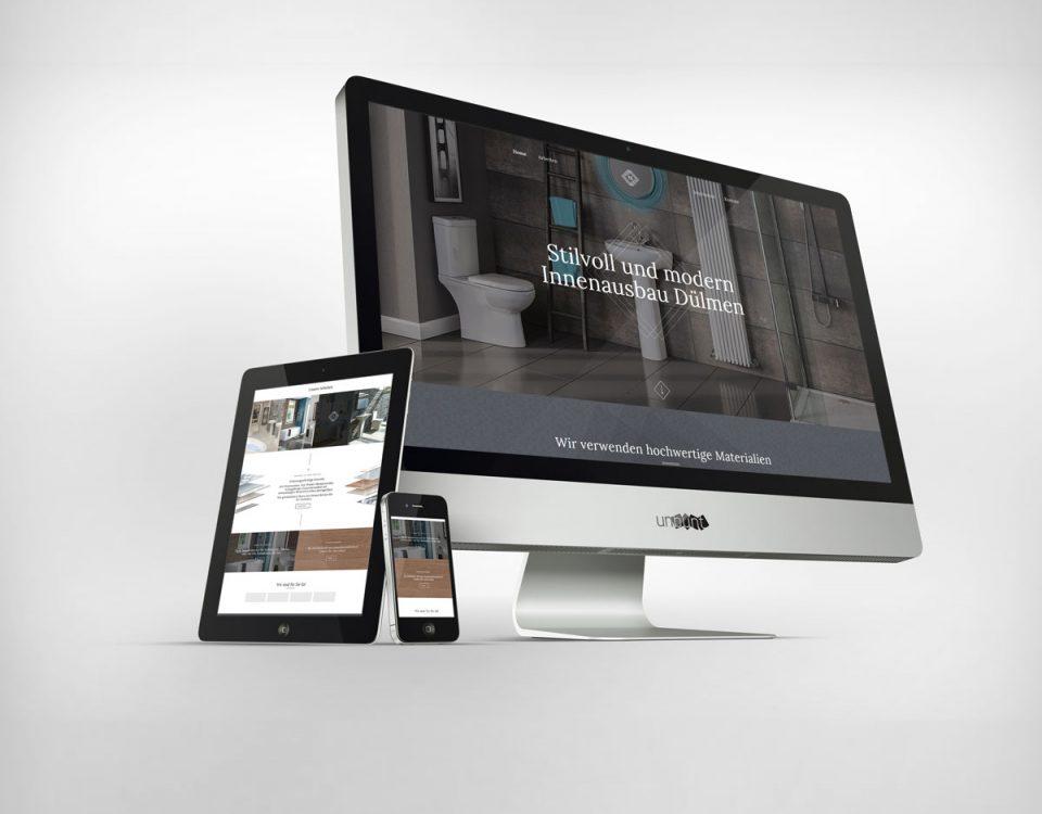 Webdesign Webseite Handwerker Innenausbau