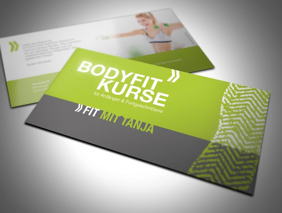 Bodyfit - Fitness - Visitenkarte
