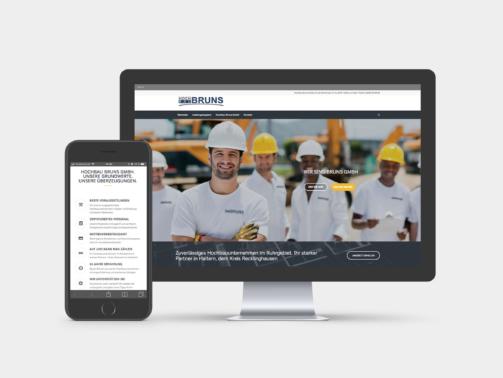 Werbeagentur Bauunternehmen